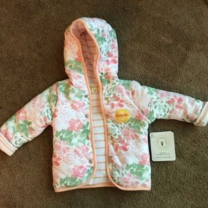 Baby girl reversible jacket 12 months